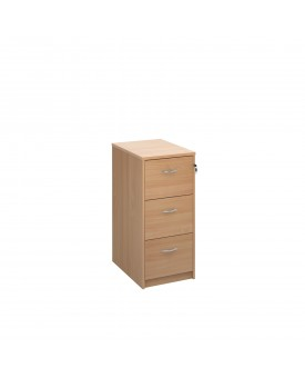 3 drawer economy filing cabinet - Beech