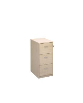 3 drawer economy filing cabinet - Maple