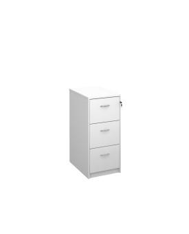 3 drawer economy filing cabinet - White