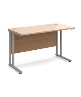 Straight economy desk - 1200mm x 600mm - Beech