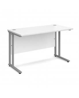 Straight economy desk - 1200mm x 600mm - White
