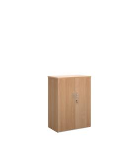 2 door 1200mm economy cupboard - Beech