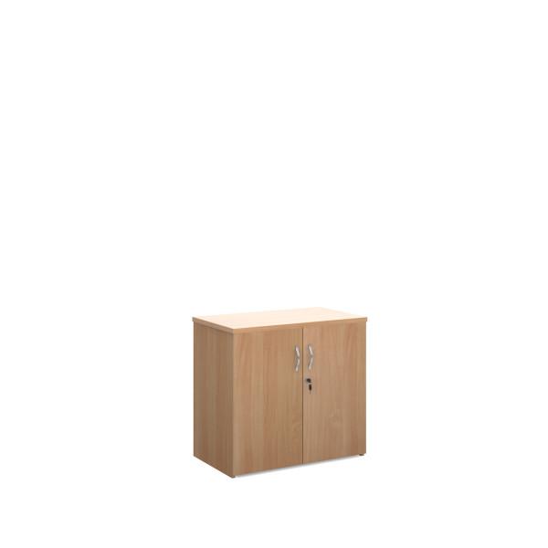 2 door 800 economy cupboard - Beech
