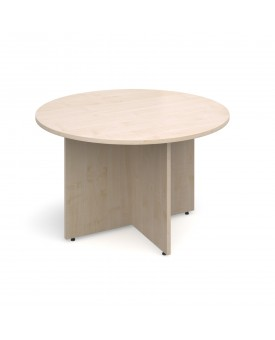 Circular economy meeting table - 1200mm - Maple