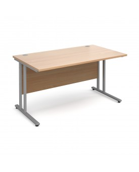 Straight economy desk - 1600mm x 800mm - Beech