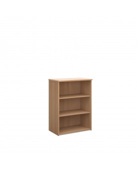 2 Shelf Economy Bookcase - 1200mm - Beech