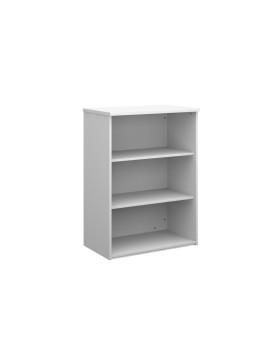 2 Shelf Economy Bookcase - 1200mm - White