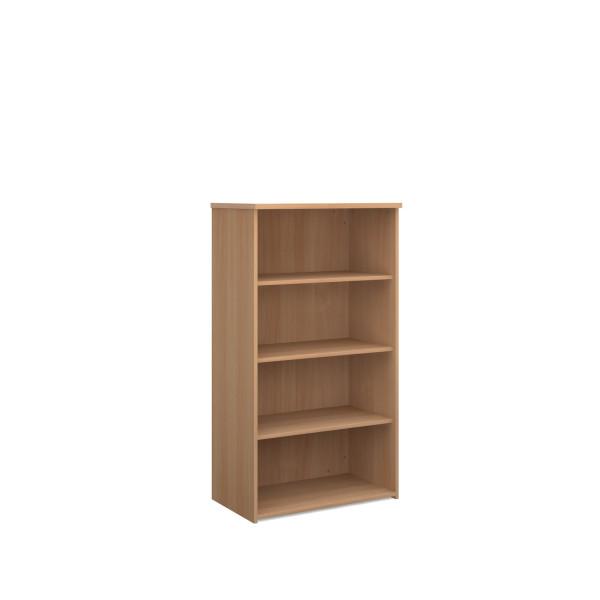 3 Shelf Economy Bookcase - 1600mm - Oak