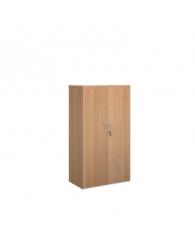 Economy 2 Door Cupboard - 1600mm - Beech