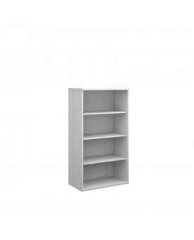 3 Shelf Economy Bookcase - 16000mm - White