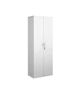Economy 2 Door Cupboard - 2000mm - White
