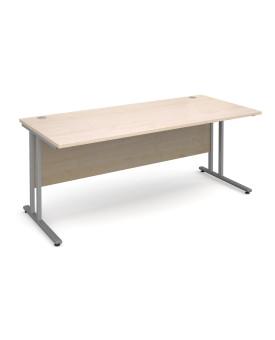 Straight economy desk - 1800mm x 800mm - Maple