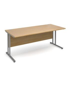 Straight economy desk - 1800mm x 800mm - Oak