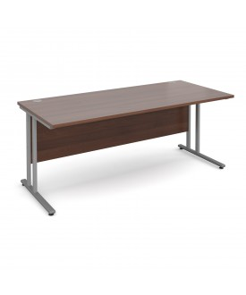 Straight economy desk - 1800mm x 800mm - Walnut
