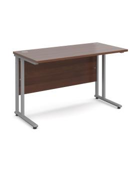 Straight economy desk - 1200mm x 600mm - Walnut