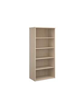 4 Shelf Economy Bookcase - 2000mm - Maple