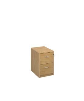 2 drawer economy filing cabinet- Oak