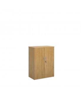 2 door economy 1090mm cupboard- oak