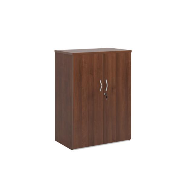 2 door economy 1200mm cupboard- Walnut
