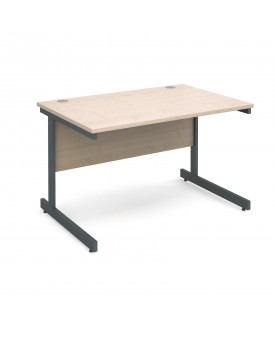 Next Day Delivery Straight Desk- 1400mm x 800mm- Available in 5 colours