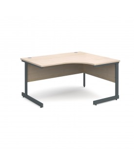 Next Day Delivery Corner Desk- 1400mm x 1200mm- Available in 5 colours