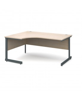 Next Day Delivery Corner Desk Left Handed- 1800mm x 1200mm- Available in 5 colours
