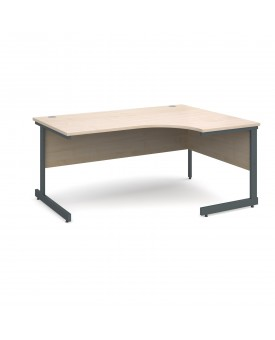 Next Day Delivery Corner Desk Right Handed- 1800mm x 1200mm- Available in 5 colours