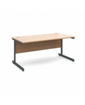 Next Day Delivery Straight Desk- 1600mm x 800mm- Available in 5 colours
