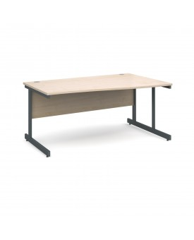 Next Day Delivery Wave Desk- 1600mm x 990mm x 800mm- Available in 5 colours