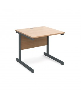Next Day Delivery Straight Desk- 800mm x 800mm- Available in 5 colours