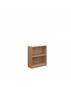 Next Day Delivery-Economy bookcase 720mm high with 1 shelf- available in 3 colours