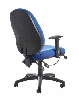 Cornwall multi functional operator chair - blue or black