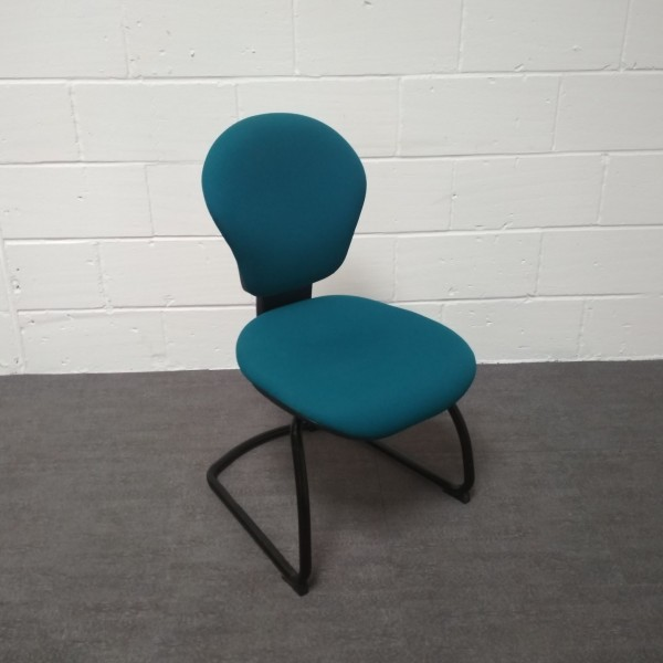 Turquoise Verco Static Chair- Low back