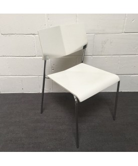 White static chair