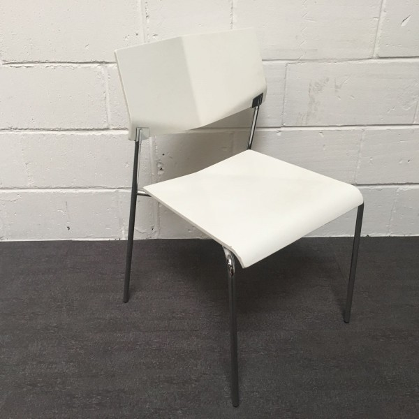 White static chair