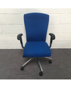 Blue Task Chair- Fully loaded