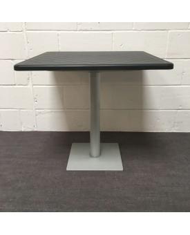 Black top table- 800 x 800 x 750